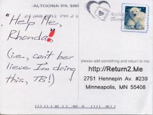 @Antyface helps Rhonda!