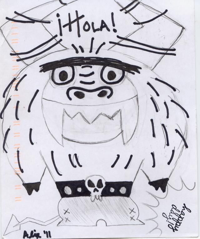 143 Hola Monster