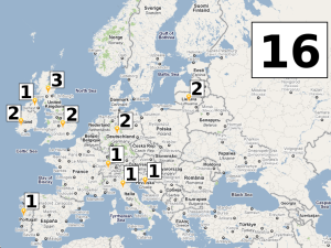 16 Volunteers in Europe