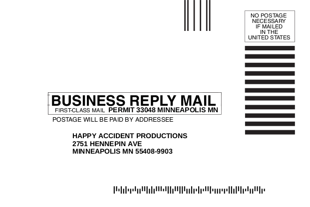 First Look At The Business Reply Mail Graphic