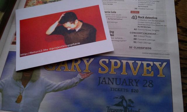 @projectblogsphere meet Gary Spivey