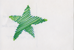 15 Green Line Star