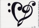 20 Treble Bass Heart