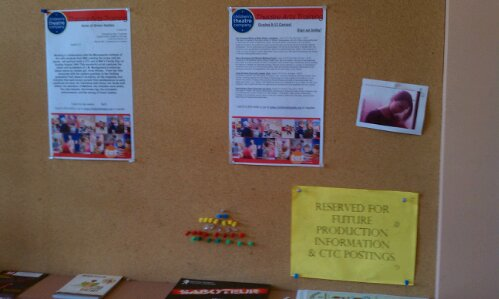 LivLives - CTC bulletin board